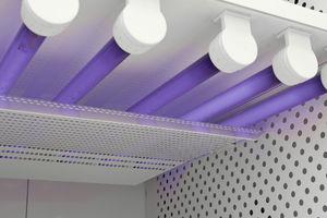 chambre d'essai de photostabilité / verticale