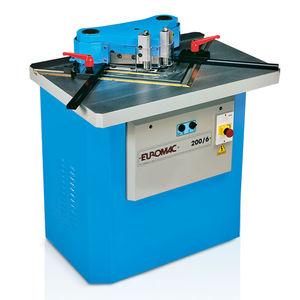 encocheuse à angle fixe 90° / hydraulique / automatique / de coupe
