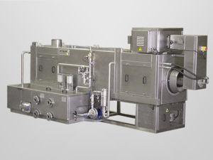 système de lavage à eau / industriel / en inox / avec sécheur