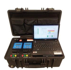 analyseur pour réseau électrique / de puissance / portable / en ligne