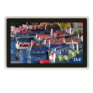 panel PC LCD / à écran tactile multi-points / à écran tactile capacitif PCAP / 15.6