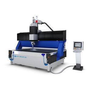 machine de découpe au jet d'eau / pour titane / pour acier inoxydable / pour l'aluminium
