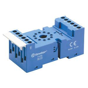 support de relais électromécanique / pour circuit imprimé