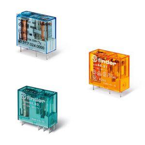 relais électromécanique miniature / 24 Vcc / 12 Vcc / 110 Vcc