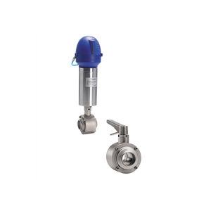 vanne à boisseau sphérique / manuelle / pneumatique / de contrôle