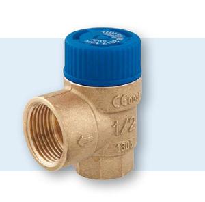 soupape de sécurité pour eau / à membrane