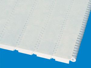 bande de convoyeur homogène / modulaire / en plastique / industrielle