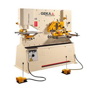 poinçonneuse cisaille semi-automatique / hydraulique / de barres / poinçonnage