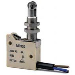 micro-rupteur à levier / unipolaire / industriel / avec boîtier