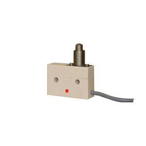 micro-rupteur à levier / unipolaire / industriel / de précision