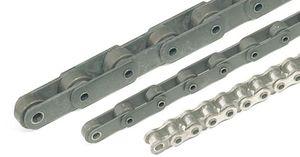chaîne en acier inoxydable / à axe creux / d'attache