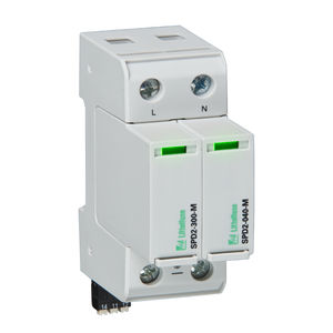 parafoudre classe II / de type 1 / multipolaire / pour alimentation électrique