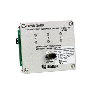 indicateur de défaut de masse / de tension / à LED / pour montage sur panneau