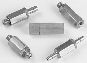 clapet anti-retour à membrane / miniature / hydraulique / pour l'eau