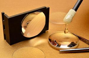 colle à polymérisation par UV / uréthane / pour métal / pour verre