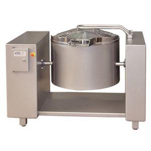 friteuse industrielle de légumes / pour plats précuits / électrique / à fluide thermique