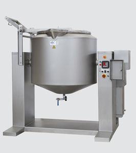 friteuse industrielle à viande / à fluide thermique / à vapeur