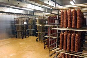 chambre de maturation pour saucisses crues