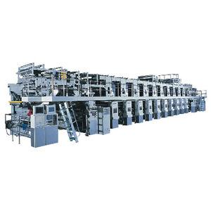 machine d'impression par rotogravure / pour étiquettes / pour emballage / automatique