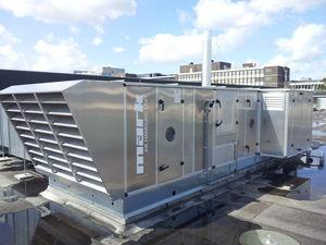 centrale de traitement d'air de toit / modulaire / d'extérieur