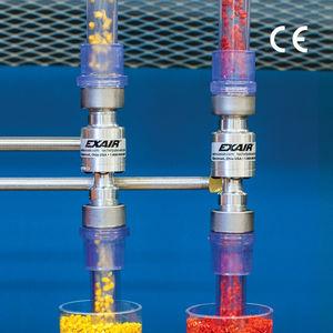 convoyeur à air / pneumatique / pour matériau en vrac / vertical
