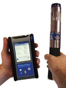 détecteur de dioxyde de chlore / de monoxyde de carbone / de gaz toxique / d'oxygène