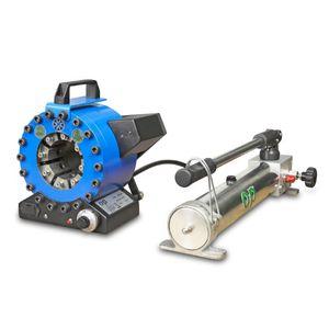 sertisseuse de tuyau flexible / pour flexible hydraulique / manuelle / hydraulique
