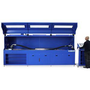 banc de test de pression pulsée / de pression / pour flexible / horizontal