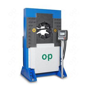 sertisseuse de tuyau flexible / automatique / hydraulique / contrôlée par PLC