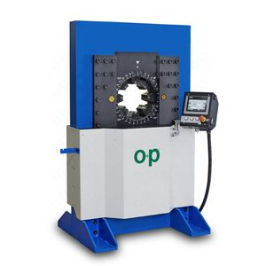 sertisseuse pour flexible hydraulique / automatique / hydraulique / contrôlée par PLC