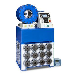 sertisseuse pour flexible hydraulique / semi-automatique / hydraulique / contrôlée par PLC