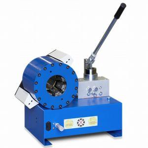 sertisseuse de tuyau flexible / pour flexible hydraulique / manuelle / à levier