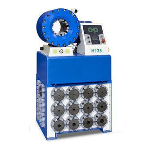 sertisseuse pour flexible hydraulique / automatique / électromécanique