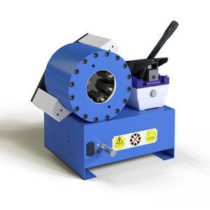 sertisseuse de tuyau flexible / pour flexible hydraulique / semi-automatique / hydro-pneumatique