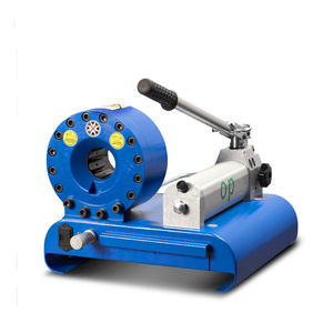machine de sertissage de tuyau flexible / pour flexible hydraulique / manuelle / à levier