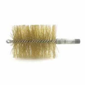 brosse cylindrique spirale / torsadée / de nettoyage / en acier inoxydable