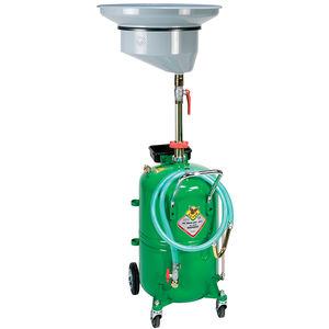 récupérateur d'huile de vidange par gravité