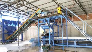 machine de fabrication de blocs en béton