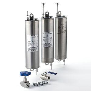 refroidisseur d'eau / pour échantillons / en inox / sanitaire