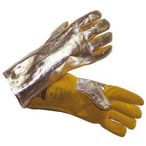 gants de soudage / anticoupure / antichaleur / résistants à l'abrasion