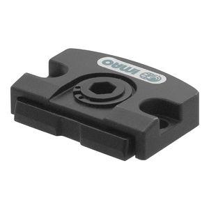 élément de serrage manuel / compact / en acier / à profil plat