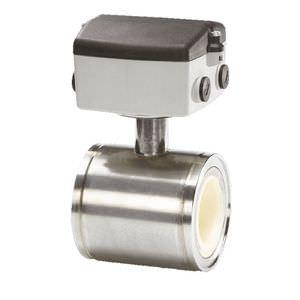 débitmètre électromagnétique / pour air / à bride / en acier inoxydable