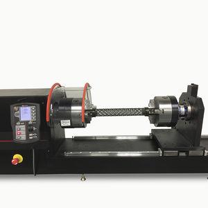 machine d'essai de torsion / de matériaux / horizontale / électromécanique