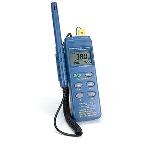 enregistreur de données de température / d'humidité relative / RS-232C / avec afficheur LCD