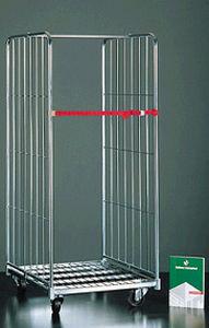 roll-conteneur 4 panneaux / 3 panneaux / 2 panneaux / en métal