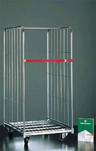 roll-conteneur pour textiles / 4 panneaux / 3 panneaux / en métal