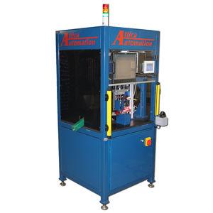 machine d'assemblage automatique / de goujons / à table rotative