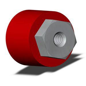 bumper en caoutchouc / en acier / en uréthane / en polyuréthane
