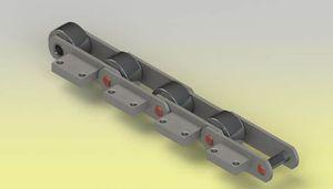 chaîne de convoyage en acier inoxydable