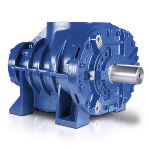 compresseur à injection d'huile / d'air / de gaz / stationnaire